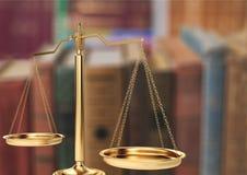 Justicia de la ley Fotografía de archivo libre de regalías