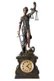 Justicia de las FO del tiempo Foto de archivo libre de regalías