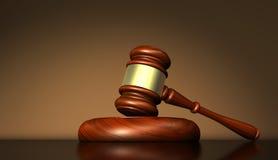 Justicia And Judge Symbol de la ley Fotografía de archivo libre de regalías