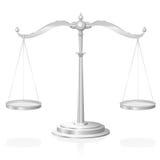 Justicia Symbol de la escala Imagen de archivo libre de regalías