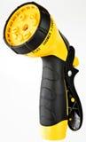Justierbare Spray-Düse und Gummi-Griff lizenzfreie stockbilder