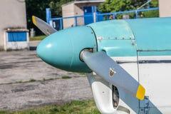 Justierbarer Propeller auf Sportflugzeugen lizenzfreie stockfotografie