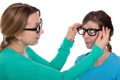 Justieren Sie Gläser Lizenzfreie Stockfotografie