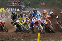 Justin Barcia Holeshot stockfotos