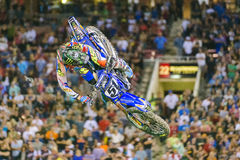 Justin Barcia at Monster Energy Cup 2015 Stock Photos