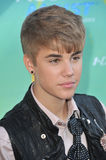 Justin Bieber. Arrives at the 2011 Teen Choice Awards at the Gibson Amphitheatre, Universal Studios, Hollywood. August 7, 2011 Los Angeles, CA Picture: Paul stock photo
