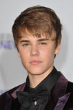 Justin Bieber. At the Los Angeles premiere of his new movie ': Never Say Never' at the Nokia Theatre LA Live. February 8, 2011 Los Angeles, CA Picture: Paul royalty free stock photos