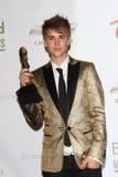 Justin Bieber Fotografia de Stock