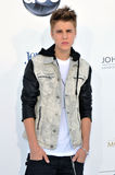Justin Bieber arrives at the 2012 Billboard Awards Stock Photo