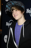 Justin Bieber che sembra in tensione. Immagini Stock