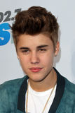Justin Bieber komt bij aan   Royalty-vrije Stock Foto's