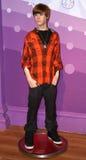 Justin Bieber na senhora Tussaud Imagens de Stock Royalty Free