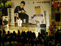 Justin Bieber Promotional Event in Megamall Royalty Free Stock Photography
