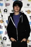 Justin Bieber que aparece vivo. Imágenes de archivo libres de regalías