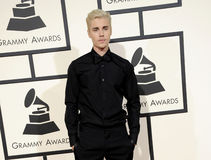 Justin Bieber. At the 58th GRAMMY Awards held at the Staples Center in Los Angeles, USA on February 15, 2016 stock images