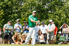 Justin Hicks at the Memorial Tournament Royalty Free Stock Photos