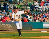 Justin Kamplain, Charleston RiverDogs Stock Photos
