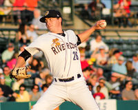 Justin Kamplain, Charleston RiverDogs Stock Photo