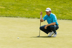 Justin Leonard at the Memorial Tournament Royalty Free Stock Image
