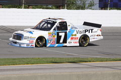 Justin Lofton 7 NASCAR Truck Series Qualifying ORP Royalty Free Stock Photo