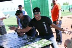 Justin Moore, Luke Bryan Royalty Free Stock Photo