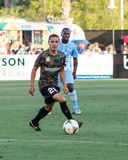 Justin Portillo, Midfielder, Charleston Battery. Charleston Battery midfielder Justin Portillo #20 Royalty Free Stock Images