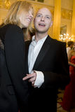 Justin Portman und Eva Herzigova Stockfotos