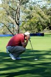 Justin Rose 2012 Farmers Insurance Open Royalty Free Stock Photos