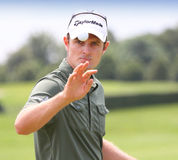 Justin Rose at the French Open 2012