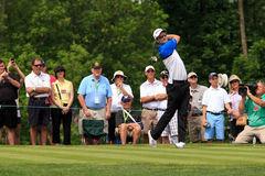 Justin Rose at the Memorial. Tournament 2013 in Dublin, Ohio, USA stock photography