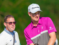 Justin Rose på US Open 2013 Royaltyfria Bilder