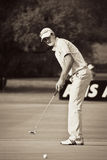 Justin Rose - Putting Out - NGC2010 Stock Photo