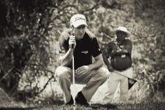Justin Rose - toma puntería - NGC2010 foto de archivo