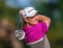 Justin Rose at the 2013 US Open royalty free stock images