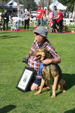 Justin Rudd Haute Dog Contest Royalty-vrije Stock Fotografie