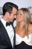 Jennifer Aniston,Ben Stiller Royalty Free Stock Images