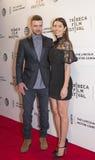 Justin Timberlake και Jessica Biel Στοκ Εικόνες