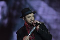 Justin Timberlake Lizenzfreies Stockbild