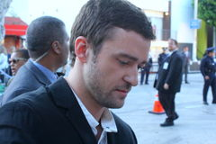 Justin Timberlake Fotos de Stock Royalty Free