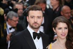 Justin Timberlake, Anna Kendrick Στοκ εικόνα με δικαίωμα ελεύθερης χρήσης