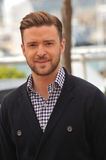 Justin Timberlake. CANNES, FRANCE - MAY 19, 2013: Justin Timberlake at the photocall for his movie Inside Llewyn Davis in competition at the 66th Festival de royalty free stock photos