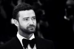 Justin Timberlake deltar i `en för `-kafésamhälle, Arkivbilder