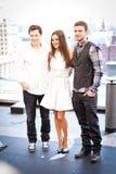 Justin Timberlake and Mila Kunis Royalty Free Stock Photos