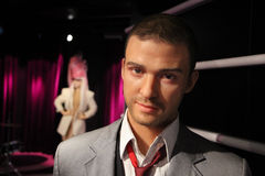Justin Timberlake. Wax figure of Justin Timberlake at Madame Tussauds in Amsterdam Royalty Free Stock Photography