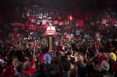 Justin Trudeau election rally Royalty Free Stock Photography