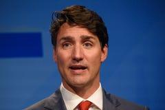 Justin Trudeau premiärminister av Kanada royaltyfri fotografi