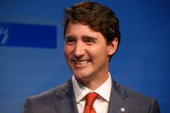 Justin Trudeau, Premierminister von Kanada stockfotografie