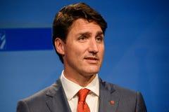 Justin Trudeau, primeiro ministro de Canadá fotografia de stock royalty free