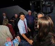 Justin Trudeau Sussex Handshake imagen de archivo libre de regalías