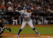 Justin Turner Immagine Stock